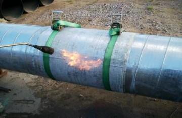 Стык оболочки из ОЦ (оцинкованной стали)